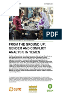 From the Ground Up: Gender and conflict analysis in Yemen