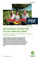 Networking for Better Value Chain Inclusion: Reflections on Oxfam's work in the raspberry value chain in Bosnia and Herzegovina