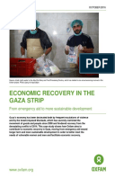 Economic Recovery in the Gaza Strip: From emergency aid to more sustainable development