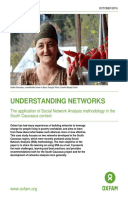 Understanding Networks: The application of Social Network Analysis methodology in the South Caucasus context