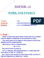 11 Work and Energy