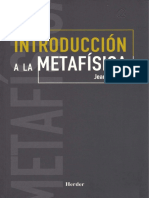 242730027 Jean Grondin Introduccion a La Metafisica PDF