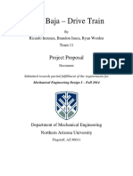Drivetrain Project Proposal