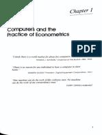 The Practice of Econometrics