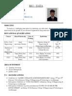 Resume MMS