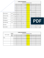Sample ISO 9001_2015 Process_Clause Correlation Matrix