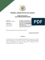 Sentencia 164. 2013-483-01 NyR