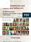 11. Understanding the New Health Safety Act Dr Bill Rosenberg