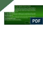 Cashflow Forecast Actual Sample