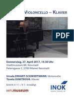 INÖK Konzert 27. April 2017  Wr Neustadt
