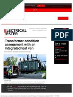 Electrical Tester Online Megger