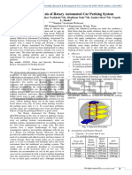 Design and Analysis of Rotary Automated Car Parking System