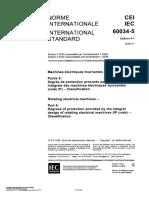 IEC 60034-5 - 2006-11