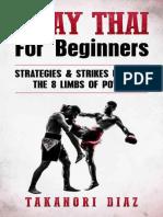 Muay Thai For Beginners - Takanori Diaz.epub