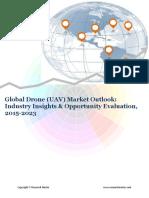 Global Drone (UAV) Market size,Demand & Opportunity Analysis 2023