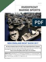 Riverfront Marine Newsletter -- March 2017