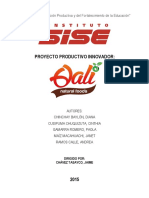 PROYECTO 2015 - QALI Natural Food´s CD