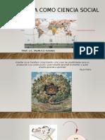 Geografía Como Ciencia Social