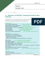 DB Lab 03- MySQL by Examples