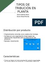 Tipos de Distribución en Planta