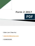 Form 2 2017