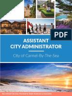 Ralph Andersen & Associates Brochure-Carmel-Assistant-City-Administrator March 2017