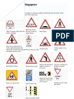 Traffic Signs in Singapore_SMART Car Rental Pte Ltd