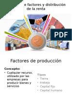 Mercado de Factores y Distribución de La Renta