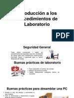 Introduccion a Los Procedimientos de Laboratorio 5804