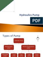 Week 2-3 Hydraulic Pump