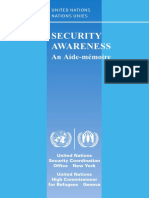UN - Security Awareness Guidelines