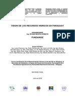 Vision de Los Recursos Hidricos en Paraguay
