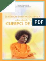 Sathya Sai Baba Habla Desde Su Cuerpo de Luz