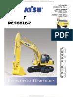 Catalogo Excavadora Hidraulica Pc300 7 Pc300lc7 Komatsu