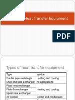 Design of Heat Transfer Exchanger 2015