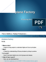 Airplane Factory - Agile Game