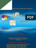 Presentacion de Bp en Almacen de Quimicos