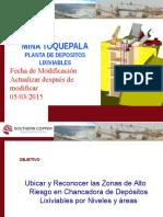 Mapa de Riesgo Planta Depósitos Lixiviables 2015 MAYO