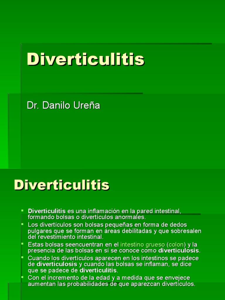 6 Diverticulitis