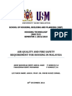 Air Quality and Fire Safety Requirement