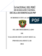 Silabo Salud Sexual 2014 en Correccion