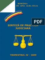 Practica Judiciara Trim.iv-2009