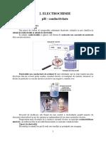 2. Variaţia Conductivităţii Şi a PH-ului Soluţiilor de Electroliţi Cu Concentraţia