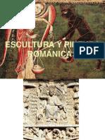 Arte Romanico.Escultura Y Pintura