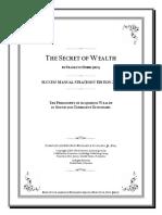 The Secret of Wealth Franklyn Hobbs