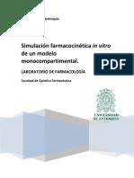 Practica 5. Simulaci_n Farmacocinética in Vitro de Un Modelo Monocompartimental