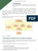 MundoPM - 2014-01-21 - BABOK 2 - Análise de Negócios