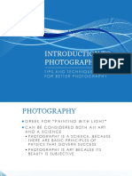 Intro to Photo Presention