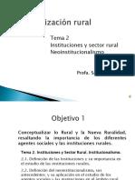 Clase del Tema 2 Org. Rural