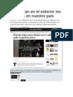 Sí Reportan en El Exterior Los Saqueos en Nuestro País